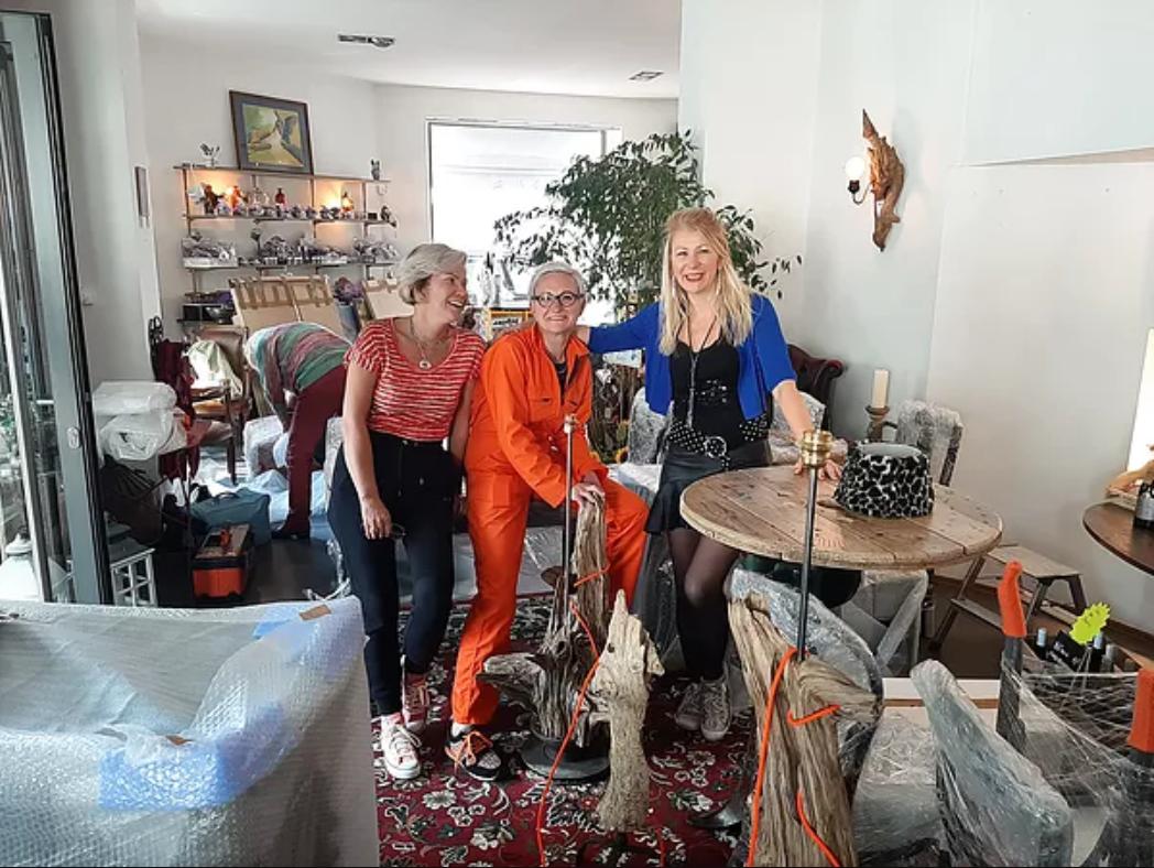 Fred Rannou, Anne Josse et Patricia Millesim