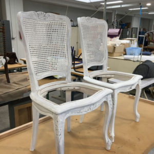 Total relooking chaises tapisserie