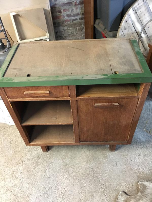 Seconde vie pour un vieux meuble